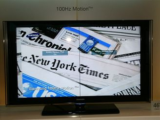 Samsung - obrazovky (motion srovnání)